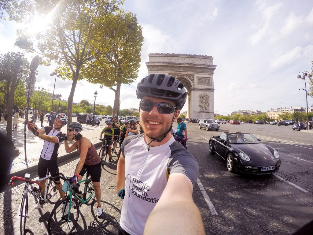 Mindset and mental resilience was key to my success when I cycled from London to Paris